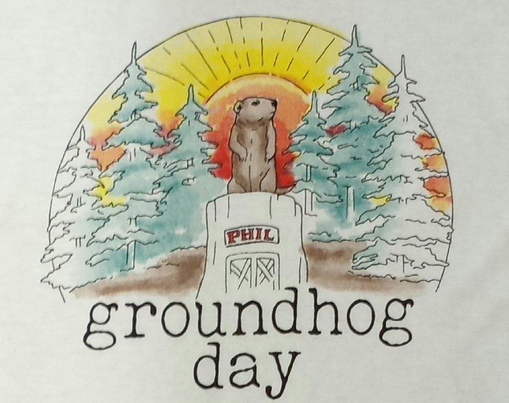 Adult Ghog Watercolor Tshirt Image a