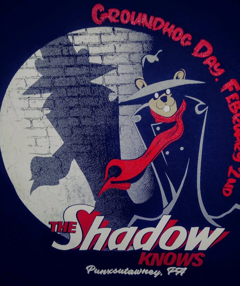 Adult Only the Shadow Knows Tshirt Image a