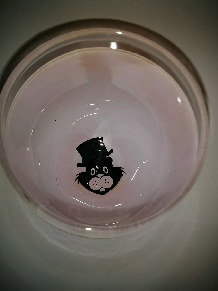 Ghog Day Glitter Glass Image a