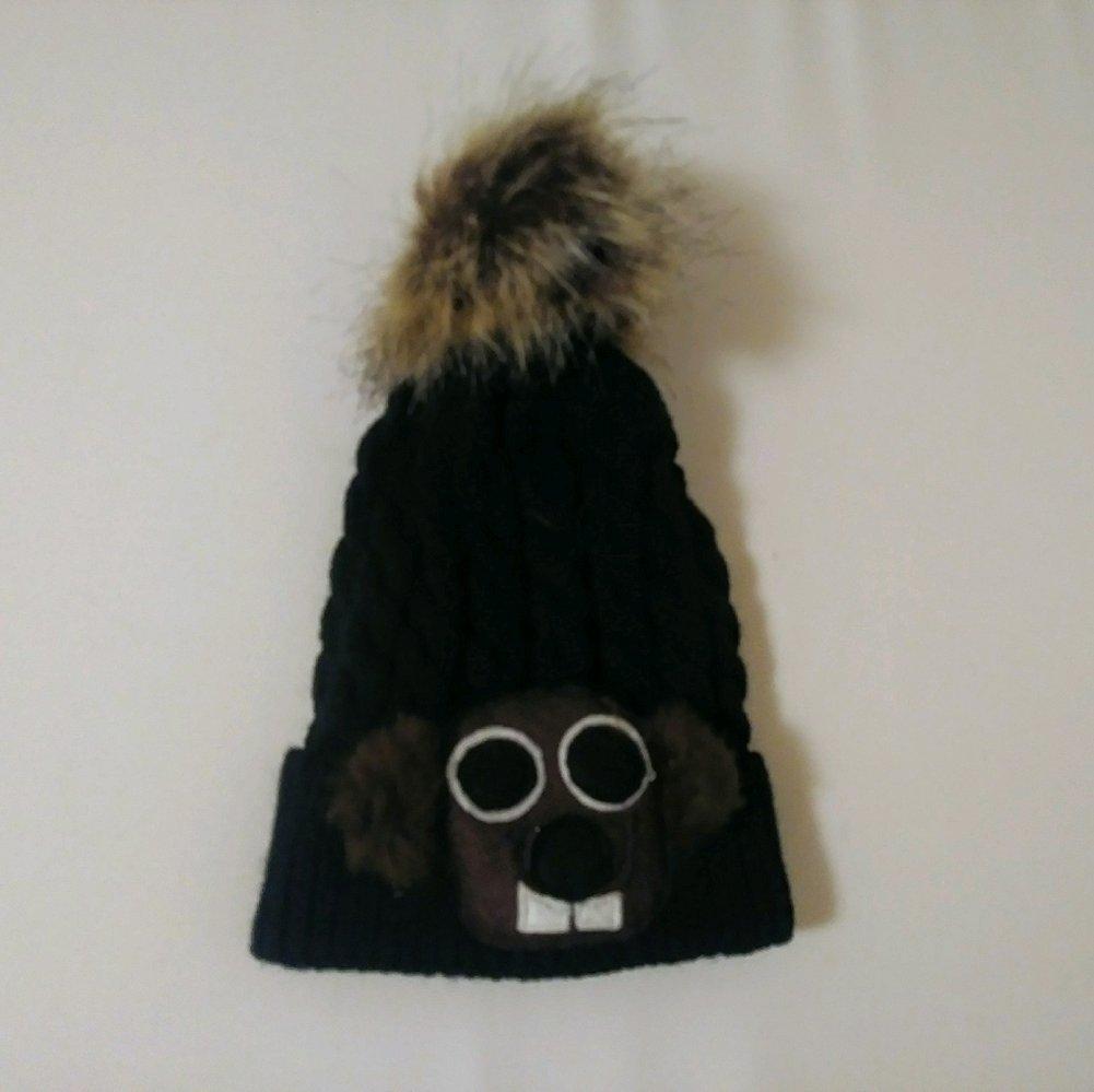 Infant/toddler Pom Pom Hat  Image a