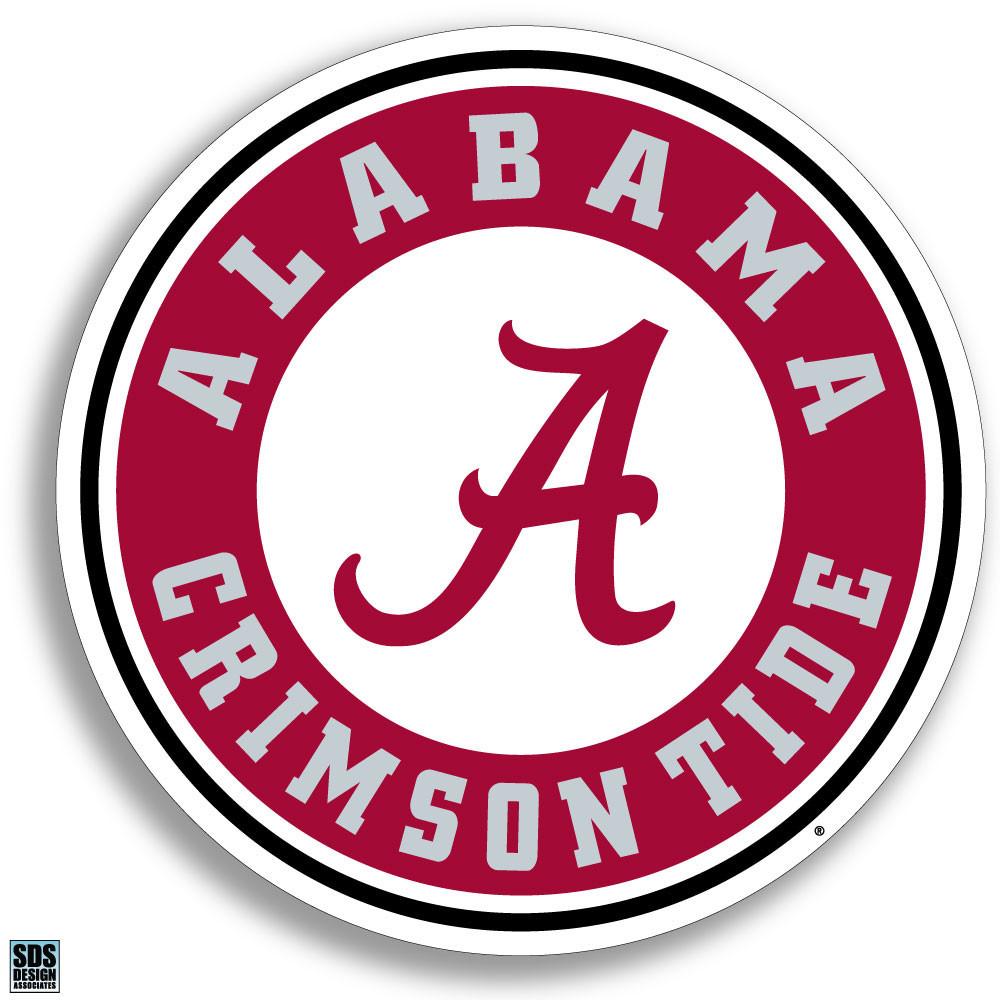 """Alabama Crimson Tide 6"""" Vinyl Decal 3-Pack Image a"""
