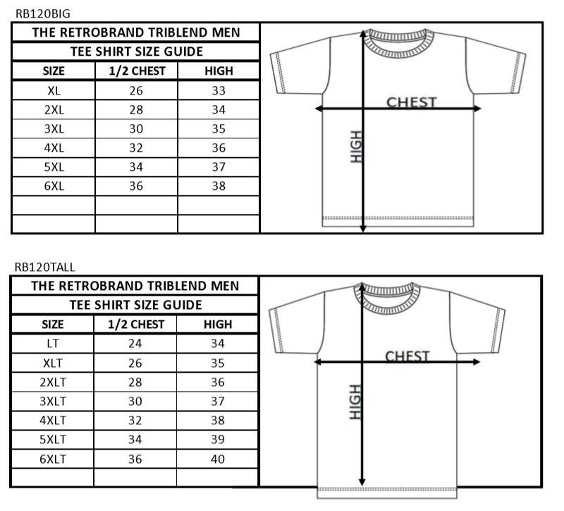 Alabama Crimson Tide Big & Tall Tshirt Gray Vintage 1XB to 5XB and XLT to 5XLT Image a