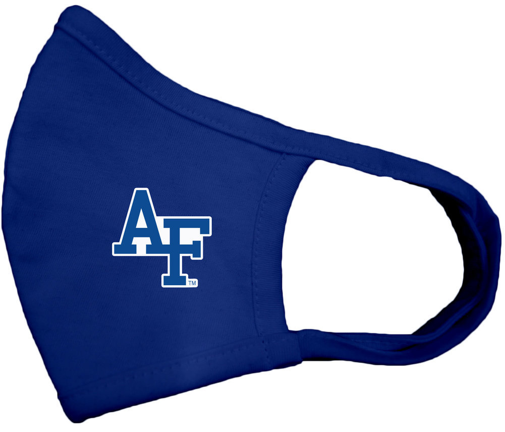 Air Force Falcons Face Covering 3 Pack Gray Image a