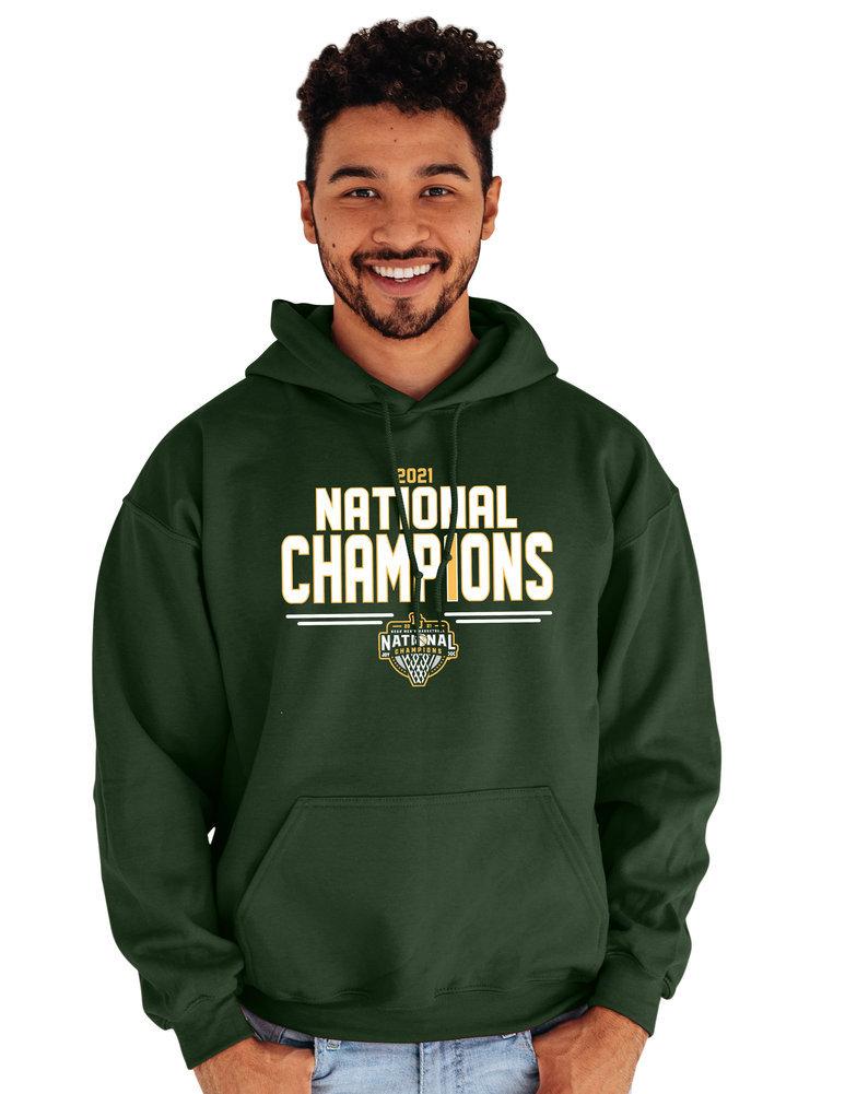 Baylor Bears National Basketball Championship Hoodie 2021 Number 1 Image a