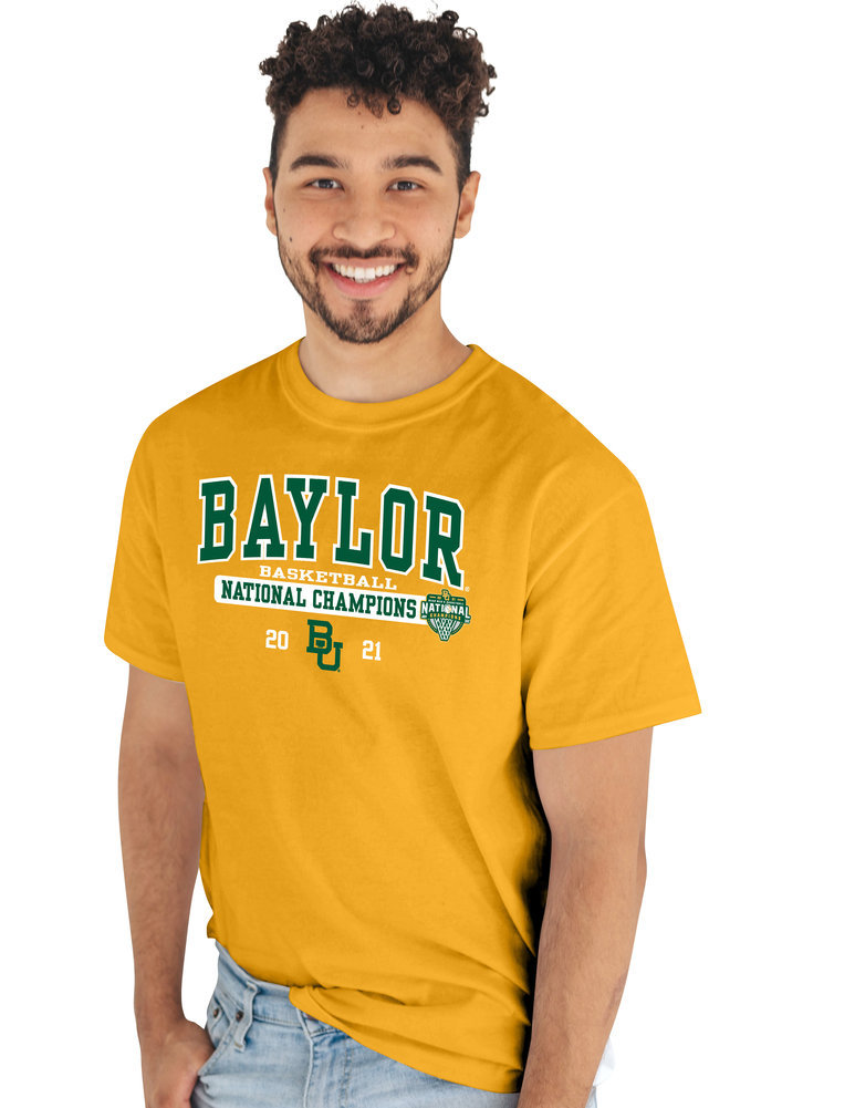 Baylor Bears National Basketball Championship T-Shirt 2021 Bold Image a