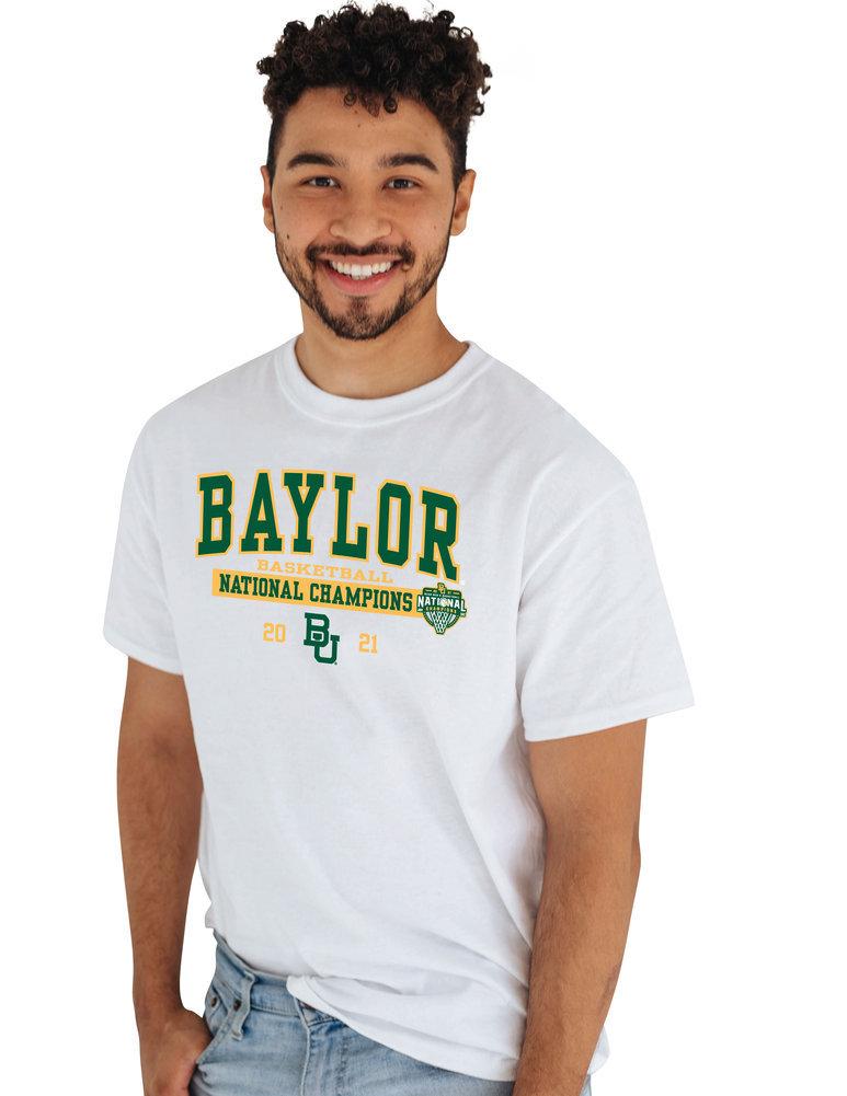 Baylor Bears National Basketball Championship T-Shirt 2021 Bold Image a