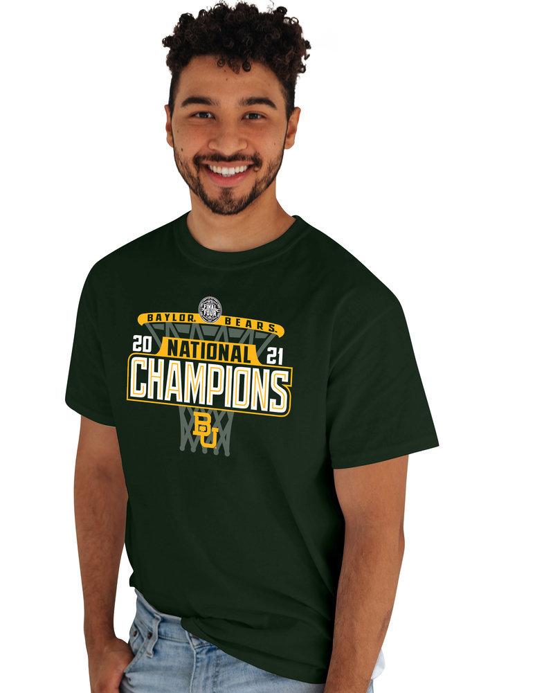 Baylor Bears National Basketball Championship T-Shirt 2021 Hoop Image a