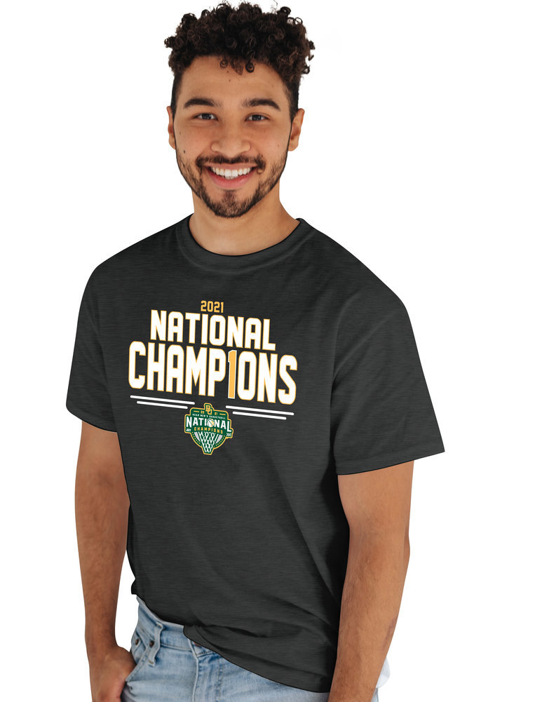 Baylor Bears National Basketball Championship T-Shirt 2021 Number 1 Image a