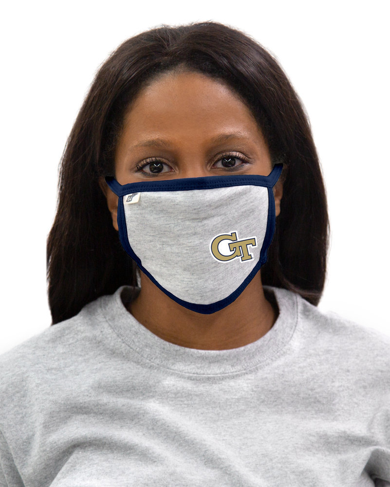 Georgia Tech Yellow Jackets Face Covering 3 Pack Image a