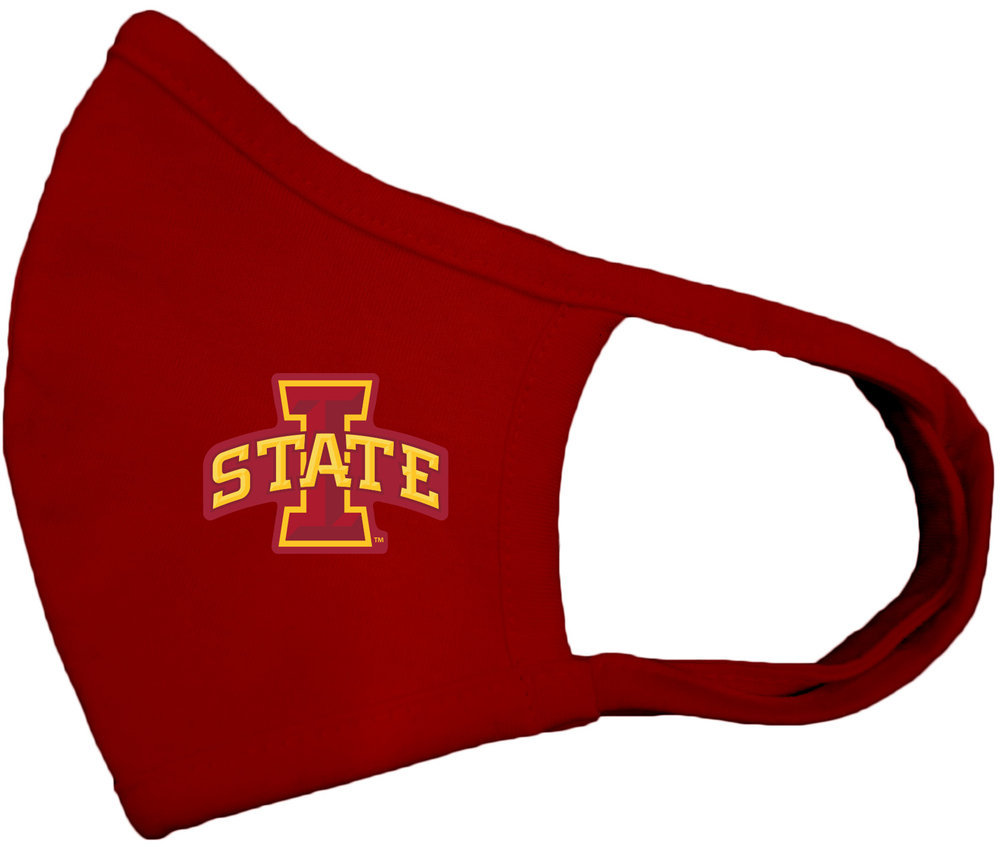 Iowa State Cyclones Face Covering 2 Pack Image a
