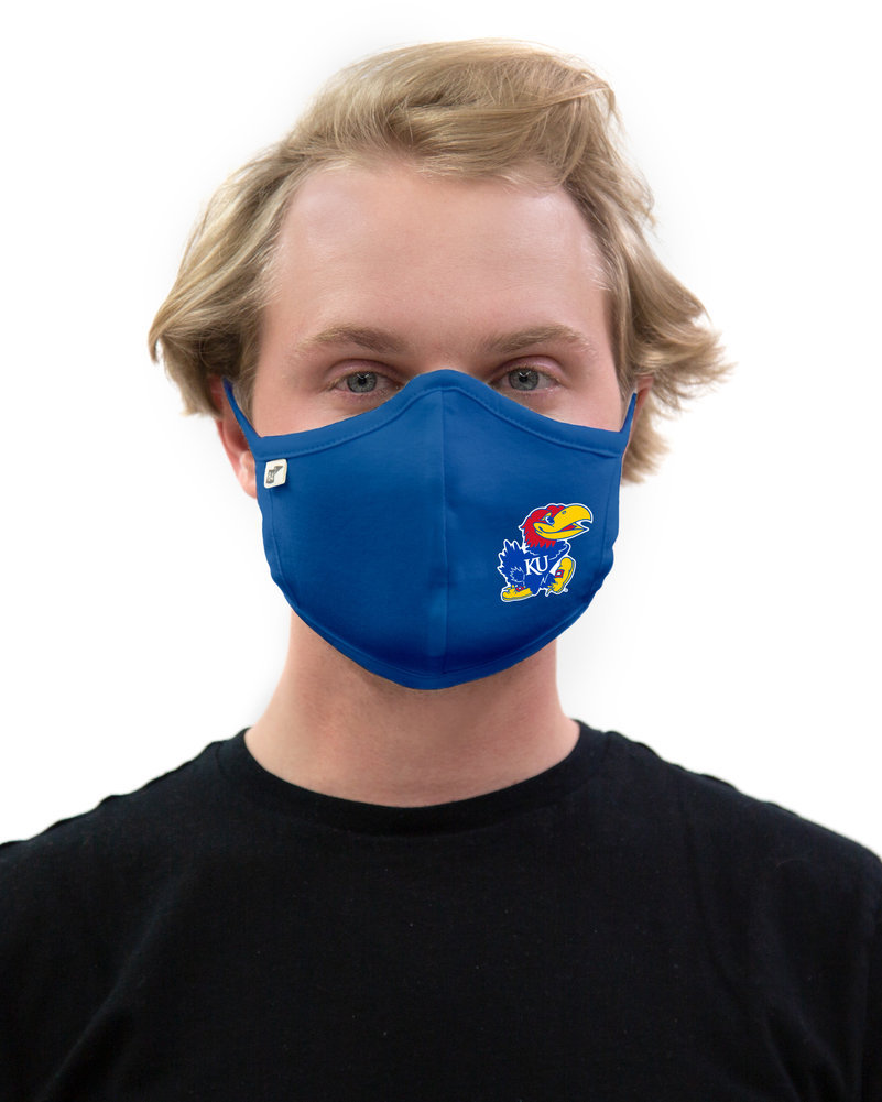 Kansas Jayhawks Face Covering 2 Pack Image a
