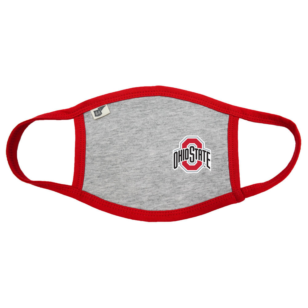 Ohio State Buckeyes Face Covering 2 Pack Image a