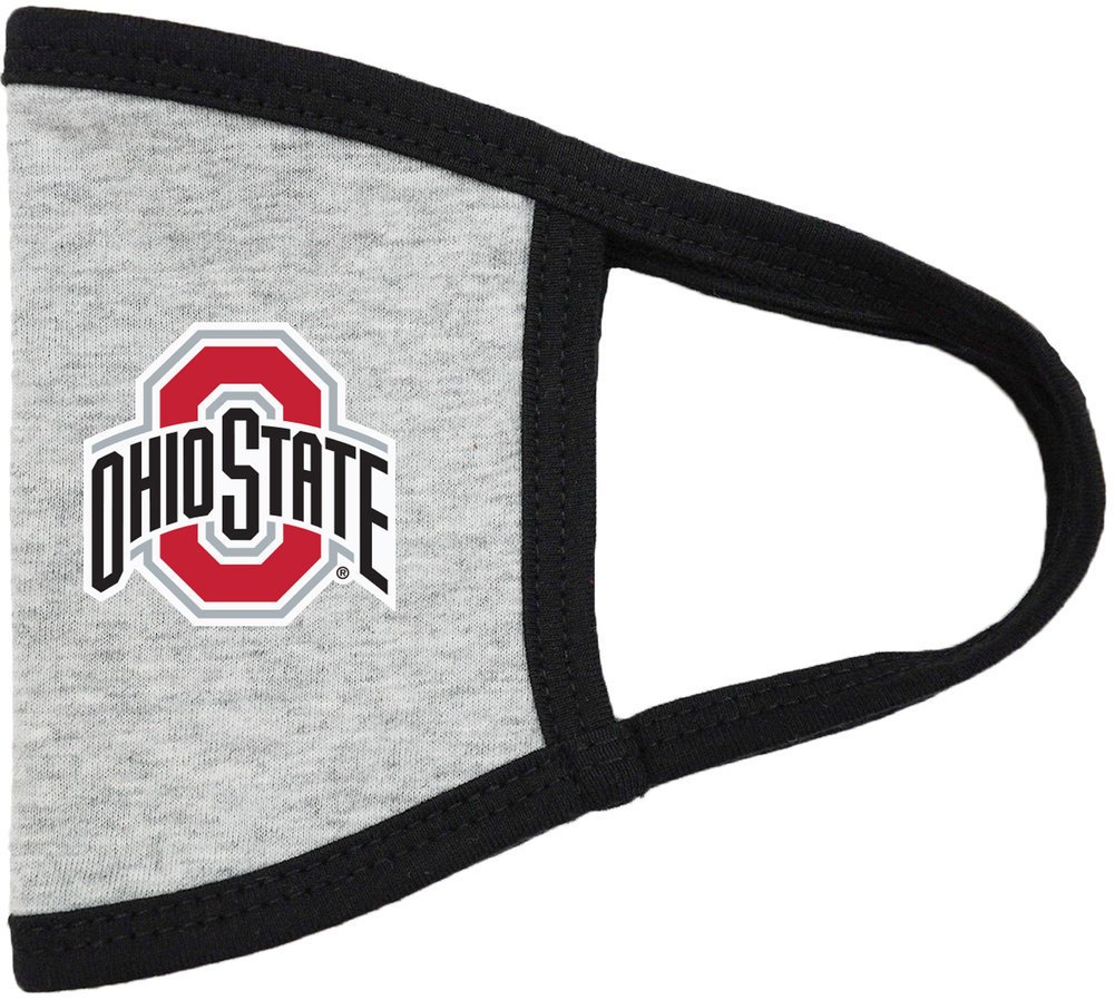 Ohio State Buckeyes Face Covering 3 Pack Image a