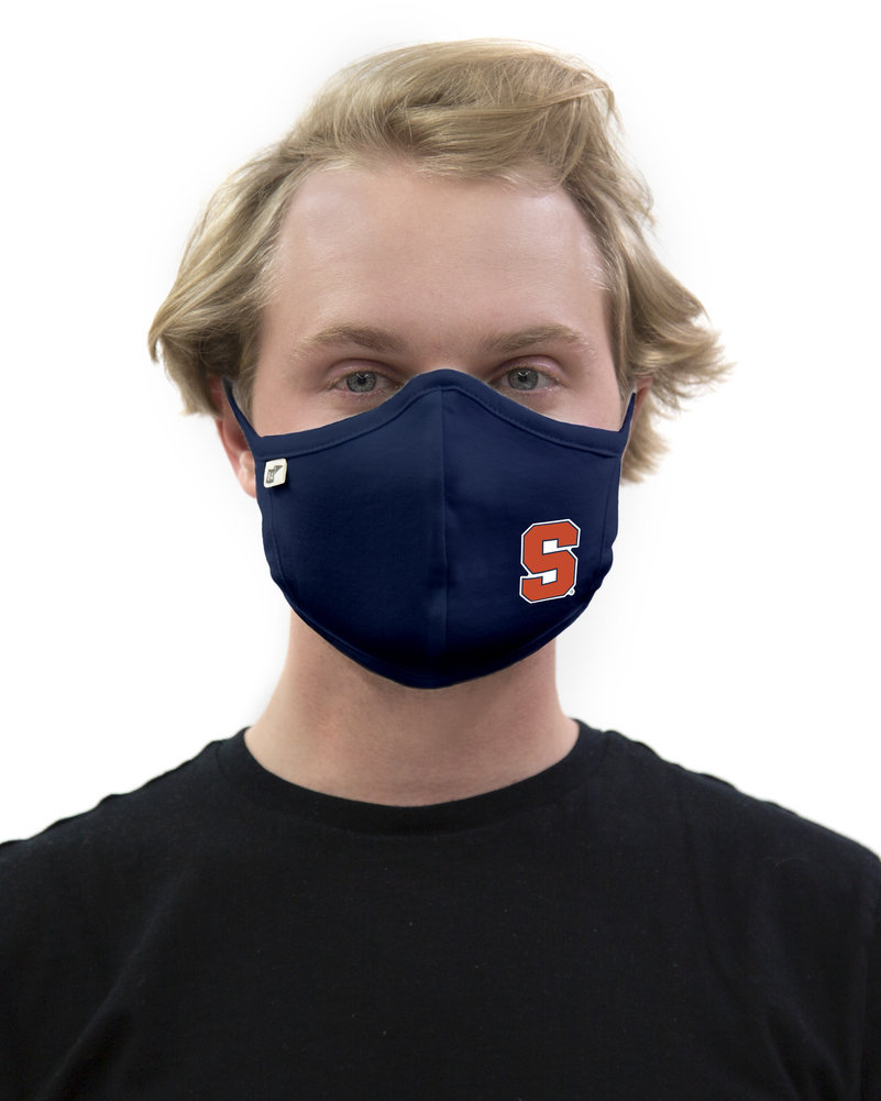 Syracuse Orange Face Covering 3 Pack Gray Image a