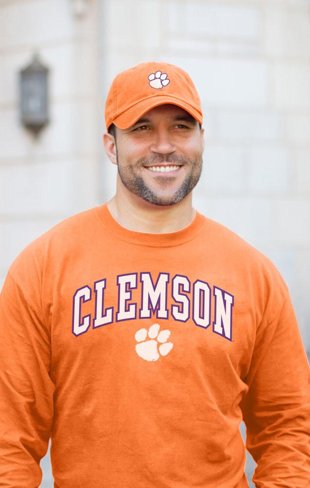 Clemson Tigers Hat Icon Orange Image a