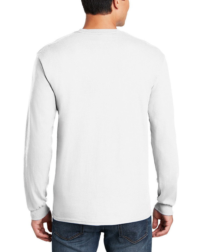 Clemson Tigers Long Sleeve TShirt Varsity White Arch Over Image a