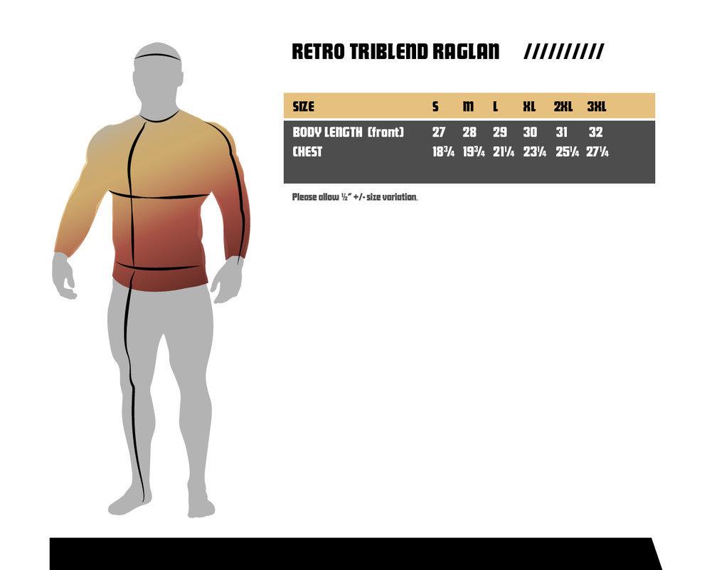 Clemson Tigers Retro TriBlend Long Sleeve Tshirt Raglan Gray Image a
