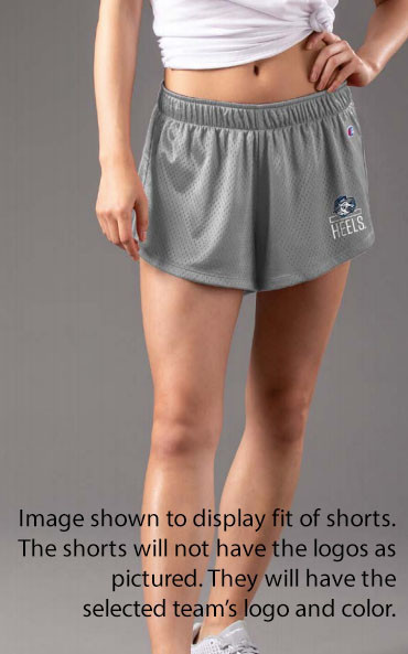 Clemson Tigers Women's Mesh Shorts Image a