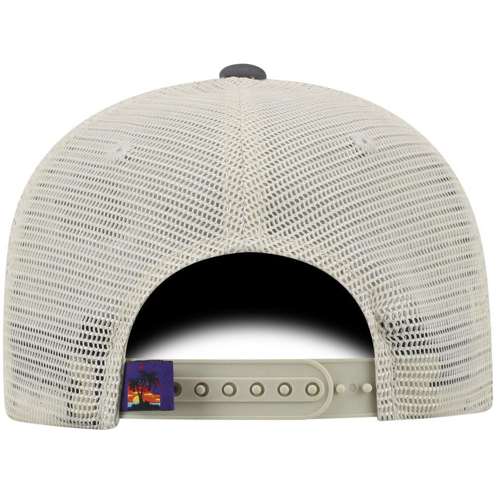 Florida National Trail Adjustable Charcoal Hat Image a