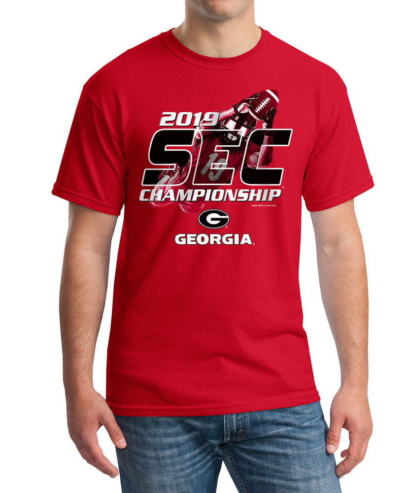 Georgia Bulldogs SEC Champs Tshirt 2019 East Division Player Image a