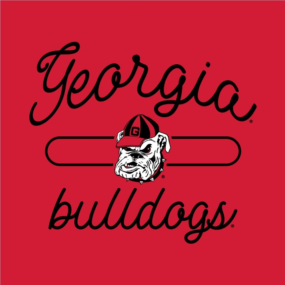 Georgia Bulldogs Women's Swing Tank Top Image a