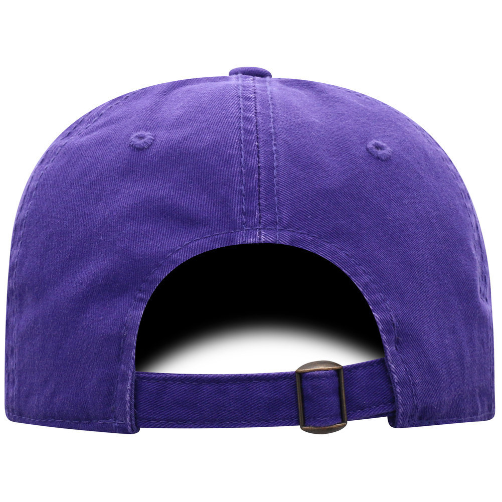 LSU Tigers National Championship Champs Hat 2019 - 2020 Purple Arch Image a