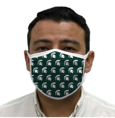 Michigan State Spartans Retro Face Covering 3-Pack Image a