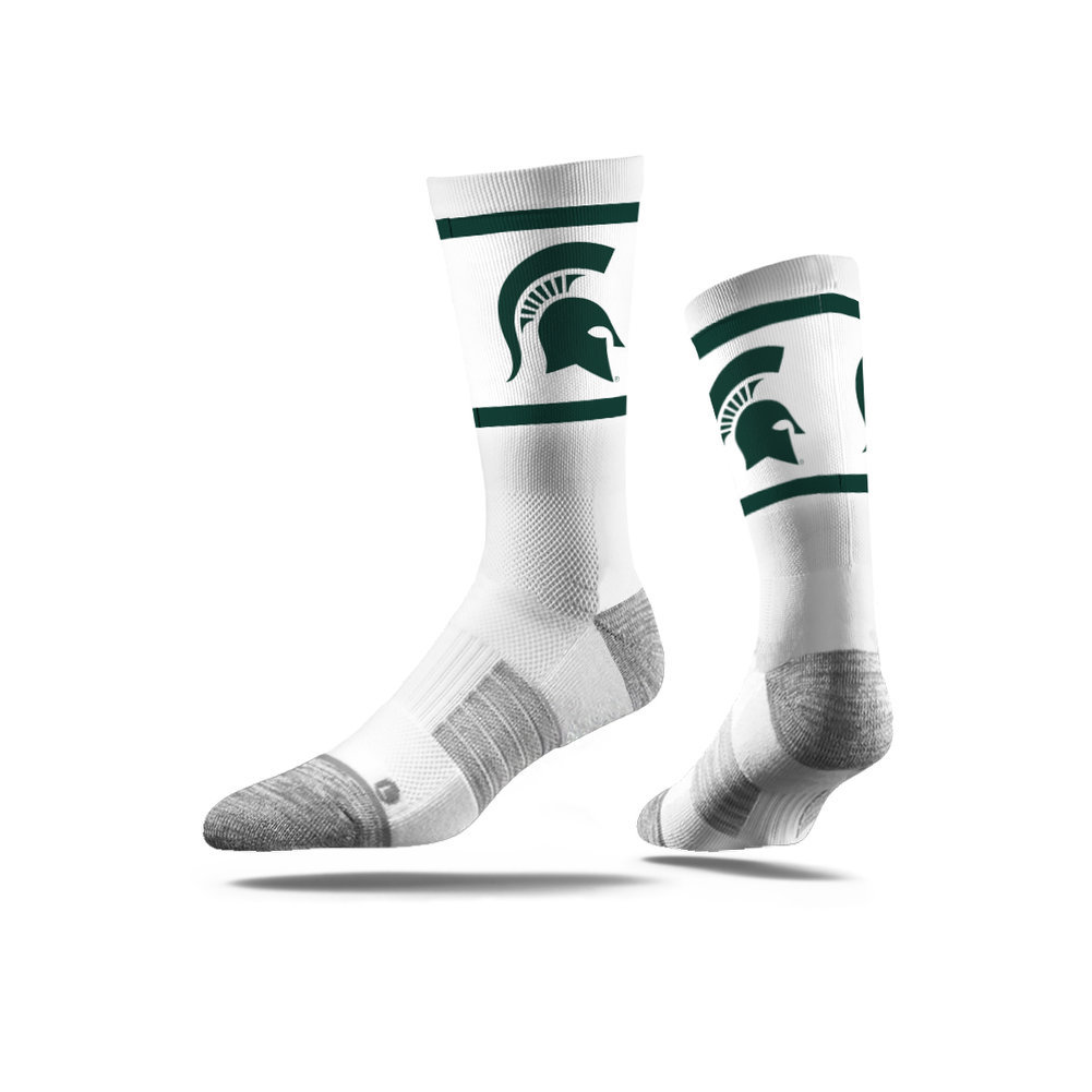 Michigan State Spartans Socks 3-Pack Image a