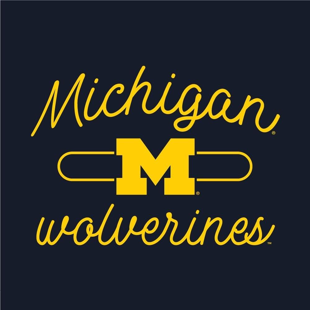 Michigan Wolverines Women's Swing Tank Top  Image a