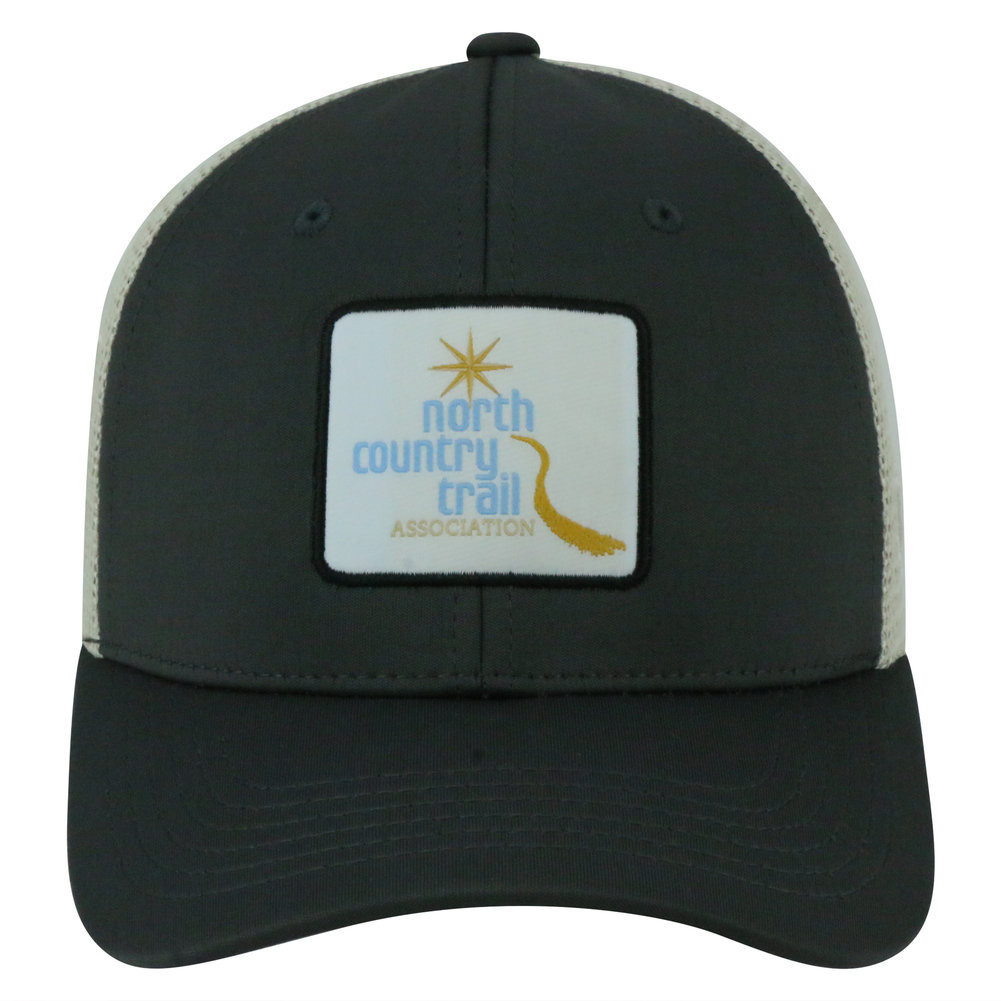 North Country National Trail Adjustable Charcoal Hat Image a