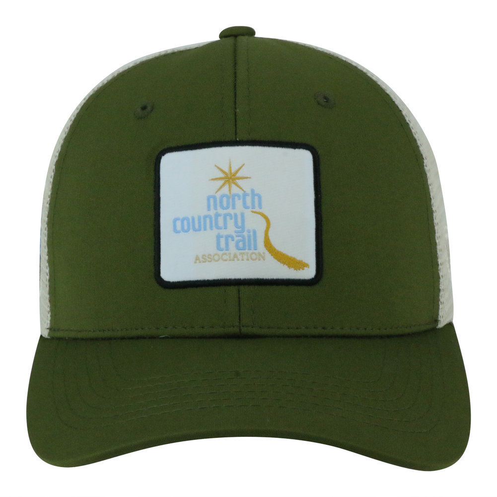 North Country National Trail Adjustable Olive Hat Image a