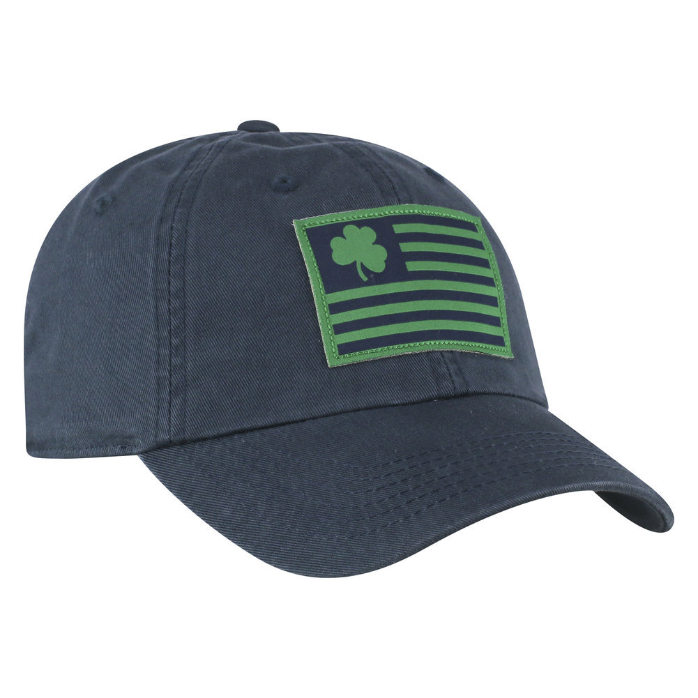Notre Dame Fighting Irish Hat Navy Flag Image a