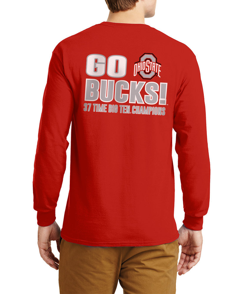 Ohio State Buckeyes Big Ten Champs Long Sleeve Tshirt 2018
