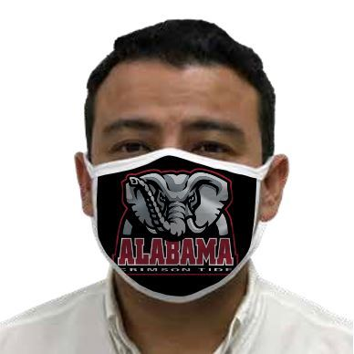 Alabama Crimson Tide Retro Face Covering 3-Pack Image a