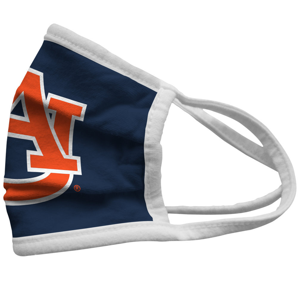Auburn Tigers Retro Kids Face Covering 3-Pack Image a