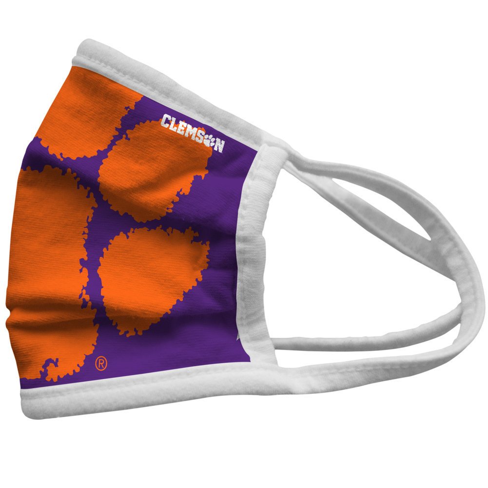 Clemson Tigers Face Covering 3-Pack Image a