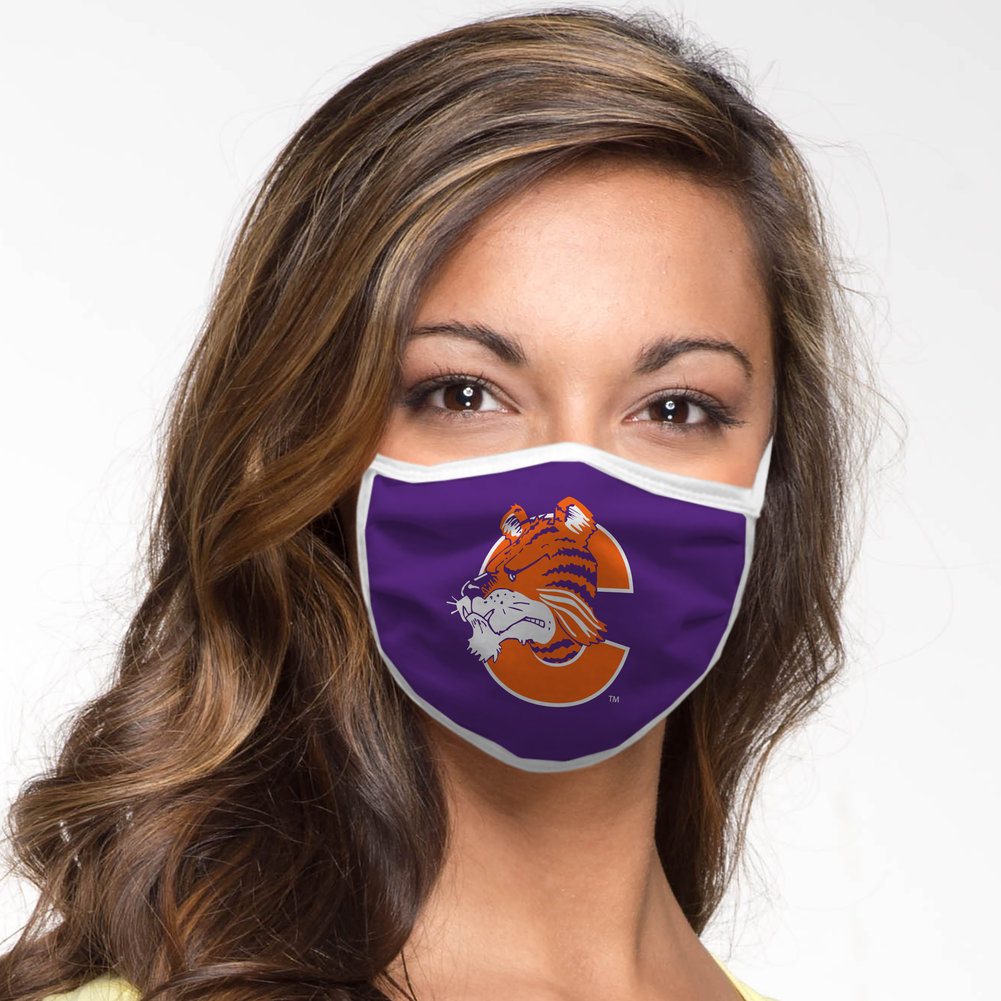 Clemson Tigers Retro Face Covering Vault 2-Pack Image a