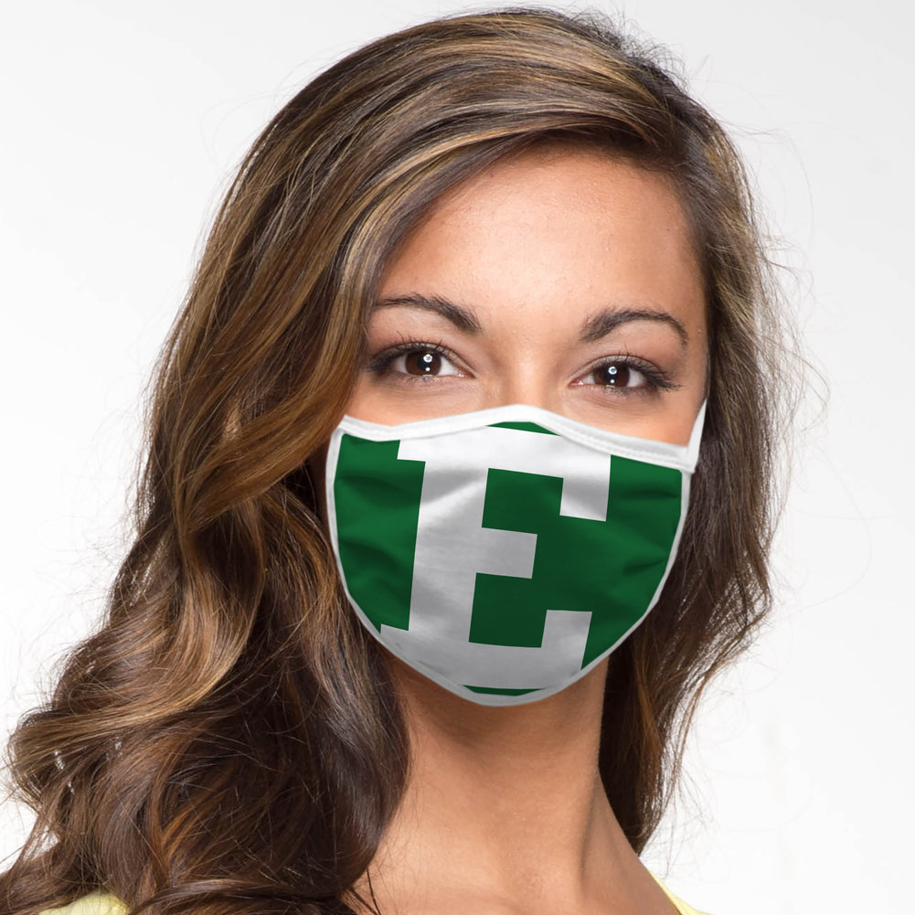 Eastern Michigan Eagles Retro Face Covering 3-Pack Image a