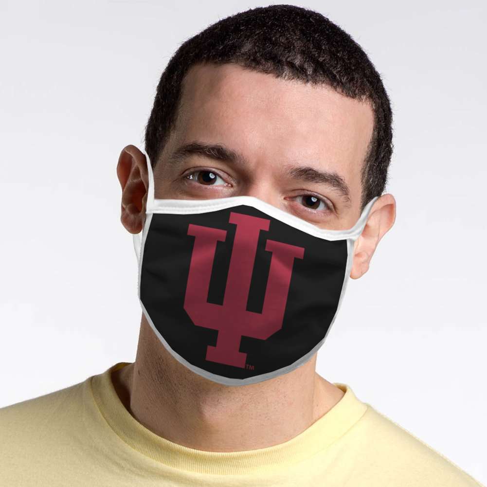 Indiana Hoosiers Retro Face Covering 3-Pack Image a