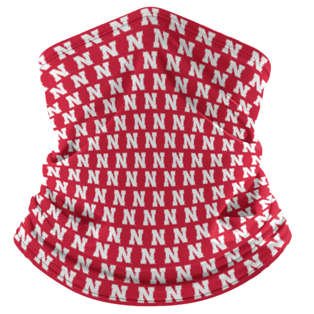 Nebraska Cornhuskers Retro Face Covering Gaiters 2-Pack Image a