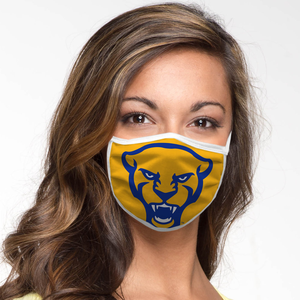 Pittsburgh Panthers Retro Face Covering 3-Pack Image a