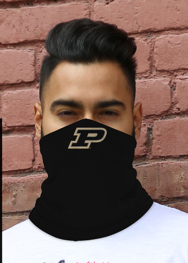 Purdue Boilermakers Retro Face Covering Gaiters 2-Pack Image a