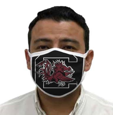 South Carolina Gamecocks Retro Face Covering 3-Pack  Image a