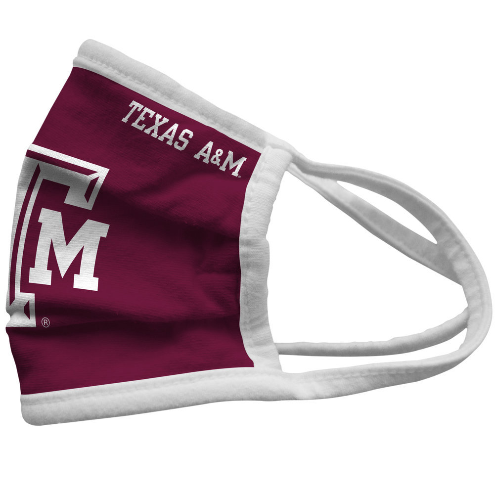 Texas A&M Aggies Retro Face Covering 3-Pack Image a