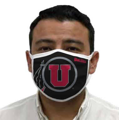 Utah Utes Retro Face Covering 3-Pack  Image a