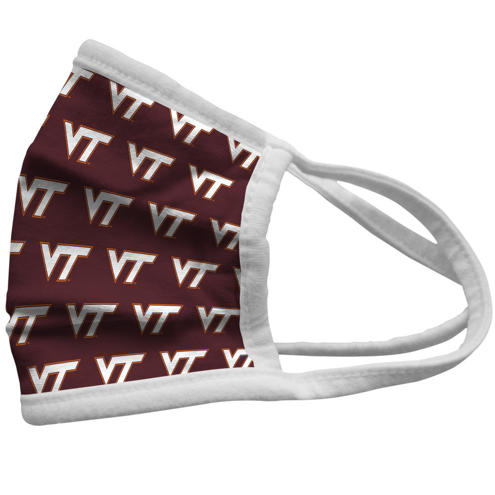 Virginia Tech Hokies Retro Face Covering 3-Pack  Image a