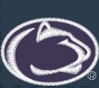 Penn State Nittany Lions Polo Navy Image a