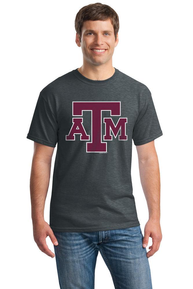 Elite Fan Shop Texas A/&M Aggies Tshirt Charcoal Icon