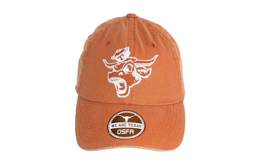 Texas Longhorns Hat Retro Orange Image a