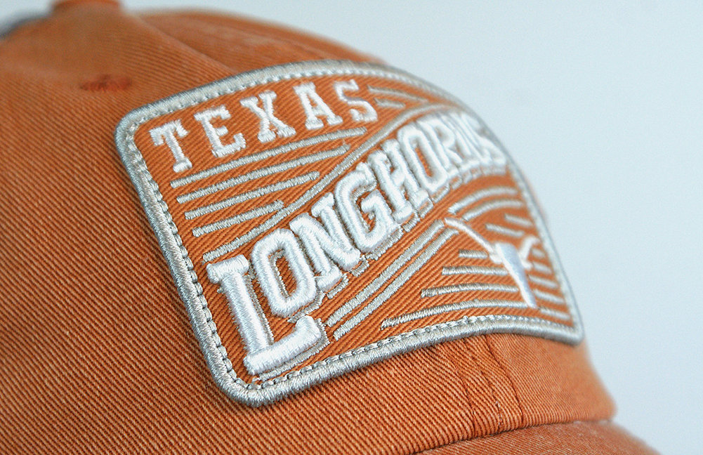 Texas Longhorns Hat Swoop Snap Back Image a